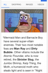 In case anyone else thought the name Man Ray sounded familiar and/or wanted a grown up reason to watch Spongebob