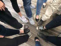 Quiz: How well do you know your students. Match the student to their shoe to receive teaching credit for the day